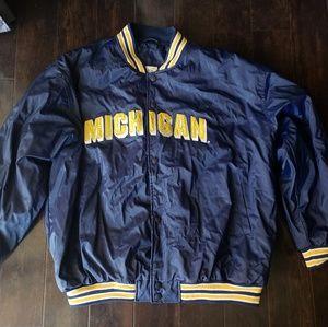 Michigan Wolverines Steve & Barry's Varsity Bomber